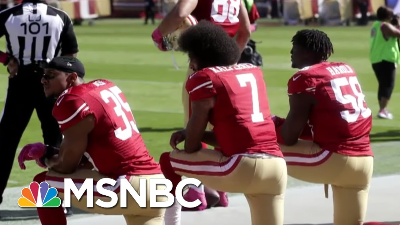 2017 Saw Return Of The Backlash In Sports And Politics | MSNBC thumbnail