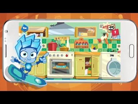 Игра Фиксики Мастера на телефон андройд / Фиксики новые серии 2015