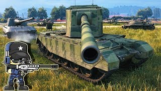FV4005 Stage II - HESHBARN 13,7K Damage - WoT Gameplay