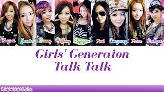 Girls' Generation (소녀시대): Talk Talk Lyrics