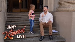 Kimmel Kidversations – Do You Know Who Donald Trump Is?
