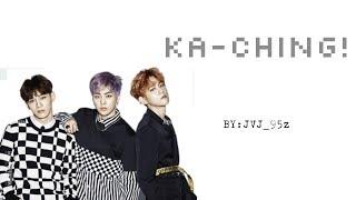 EXO-CBX - Ka-Ching (Colour Coded Lyrics Han/Rom/Eng)