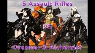 Alchemist  - (Girls' Frontline) - Girls' Frontline - 5 AR Alchemist & Dreamer