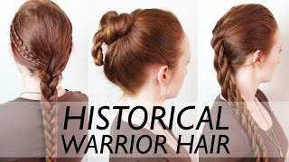 Real Ancient Warrior Hairstyles for Men - Vikings, Suebian Knot, Scythians