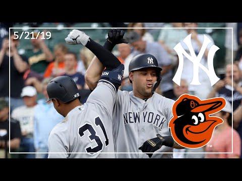 New York Yankees @ Baltimore Orioles | Yankee Highlights | 5/21/19
