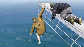 GTA 5 Water ragdolls/fails compilation vol.14 [Euphoria physics   Funny Moments]