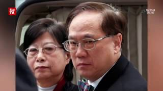 Former HK leader jailed 20 months for misconduct