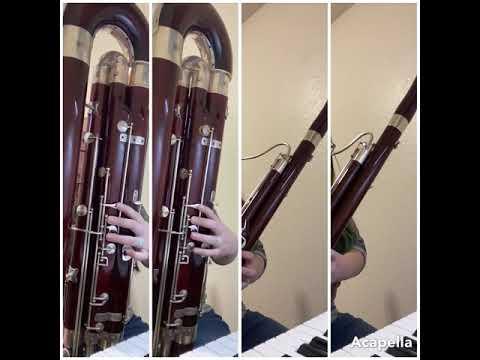 Pergolesi's Stabat Mater for Bassoon Quartet.
