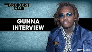 The Breakfast Club - Gunna Talks Crime Stoppers Video, Street Name + 'WUNNA'