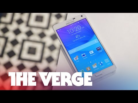 Samsung Galaxy Note 4 hands on