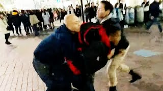 Why Japan arrests foreigners 渋谷駅前にて外国人が暴れる