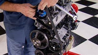 Building a Ford 2.3L 4-Cylinder Lima Engine For The Dirt Track - HorsePower S16, E16