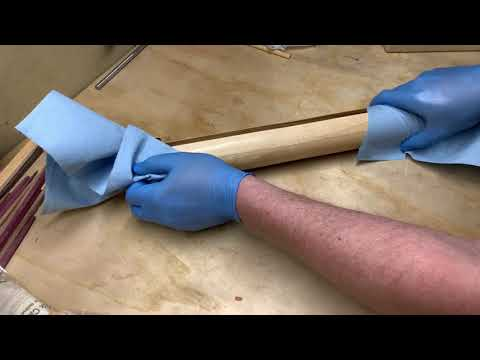 Woodturning Kettle Glazed Donuts Custom Rolling Pin