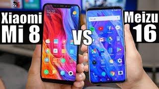 Meizu 16 vs Xiaomi Mi 8: Notch or no notch? Which Is Better?