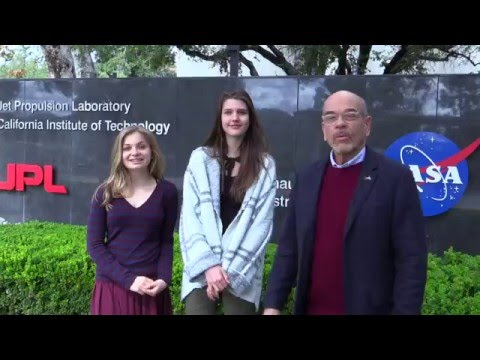 Young Women Interview JPL Scientists