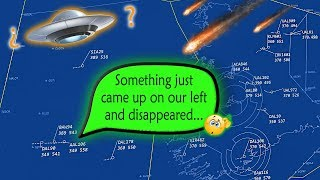 [REAL ATC] Several aircraft witness a UFO RIGHT OVER  IRELAND!