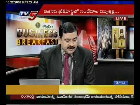 22nd Oct 2018 TV5 News Business Breakfast