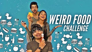 WEIRD FOOD Challenge | Rimorav Vlogs