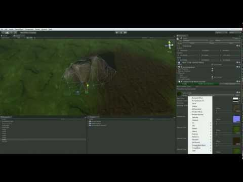 UE4: Terrain/mesh Normal Blending — polycount