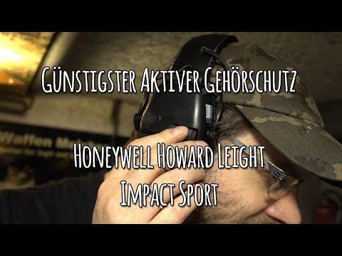 Günstigster aktiver Gehörschutz: Honeywell Howard Leight Impact Sport