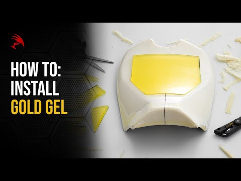 LUIMOTO GOLD GEL INSTALLATION VIDEO