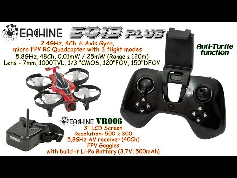 eachine-e013-plus-micro-fpv-rc-quadcopter-with-eachine-vr006-mini-fpv-goggles-rtf--fpv-flights