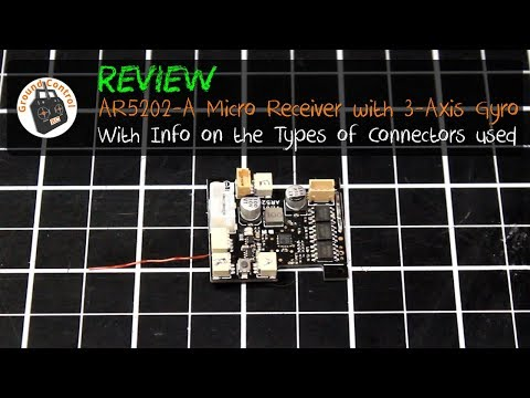 Review - AR5202-A Micro 4CH Receiver with 3-Axis Gyro & Brushless ESC