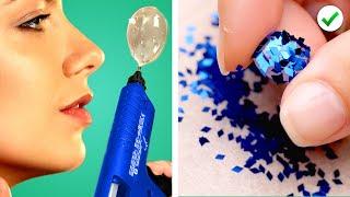 HOT GLUE CRAFTS    20 Ways To Use A Glue Gun   DIY Ideas & Lifehacks By Crafty Panda