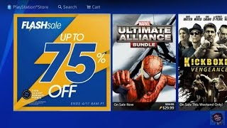 PS4 FLASH SALE EASTER WEEKEND 2017 NA