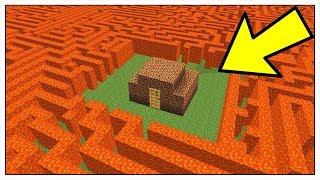 CASA NOOB CONTRO LABIRINTO DI LAVA! - Minecraft ITA