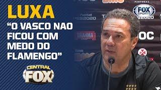 Treinador responde as provocações do atacante do Flamengo após empate no clássico no Maracanã.  Quer saber tudo sobre o melhor do esporte? Acesse nossas redes!  http://www.foxsports.com.br  ➡ Facebook: http://facebook.com/foxsportsbrasil  ➡ Twitter: http://twitter.com/foxsportsbrasil ➡ Instagram: http://instagram.com/foxsportsbrasil  Torcemos Juntos!  #Vasco #Flamengo #Brasileirão