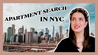 NYC APARTMENT HUNTING | 5 things you need before moving to New York City | How to find an apartment