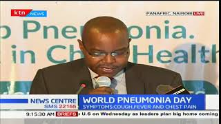 World Pneumonia Day - 13th November 2017 - Ministry of Health launches campaign to end Pneumonia