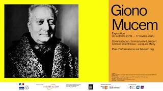 Campagne d'affichage Mucem Giono.