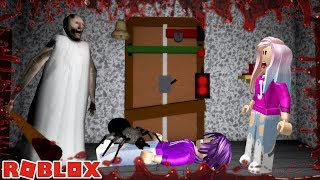 BEST GRANNY REMAKE ON ROBLOX! / COMPLETE ESCAPE WITH 3 ALL BADGES!