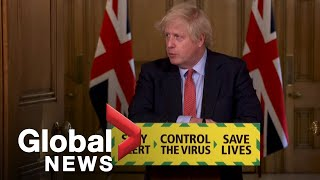 Coronavirus outbreak: UK PM Boris Johnson unveils retail reopening plan | FULL