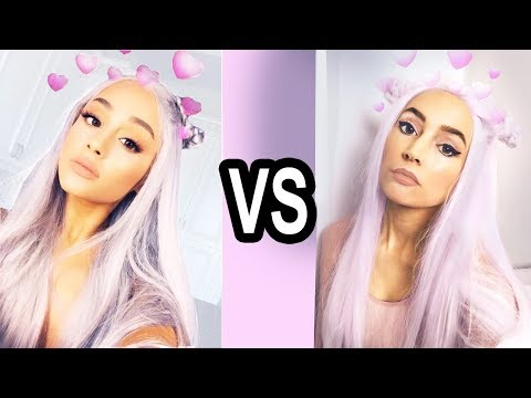 I Copied Ariana Grande's Instagram For a Week...
