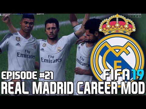 FIFA 19   Карьера тренера за Реал Мадрид [#21]   Азар звезда Реал Мадрида? / В шаге от финала