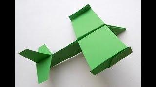 Оригами как сделать бумажный самолет который долго летает Форм-А4. Paper airplane  A4 format Origami