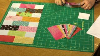 Quilting Quickly: Baby Bricks - Baby Quilt Pattern