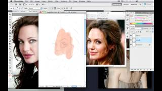 Anthony Geoffroy's Angelina Jolie Caricature Drawing Video Tutorial Teaser