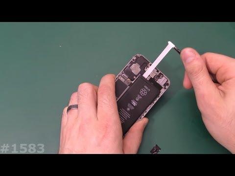 Хитрость при ремонте Iphone. Замена батареи iphone 5, 5s, 6