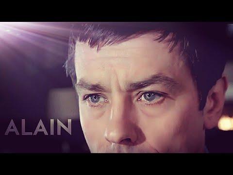 Alain Delon - Margherita (by Riccardo Cocciante) with lyrics