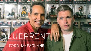 Blueprint - Spider-Man to Spawn, How Todd McFarlane Became the Biggest Comic Book Artist Ever