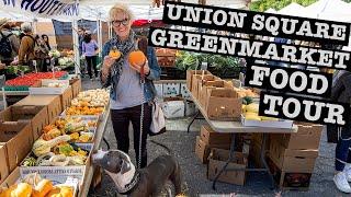 UNION SQUARE NYC GREENMARKET FOOD TOUR: Farmers Market