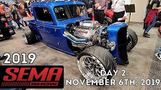 SEMA show 2019 Highlights - Amazing cars and trucks - Las Vegas Day 2