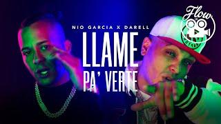 Video Llame Pa' Verte de Nio García feat. Darell
