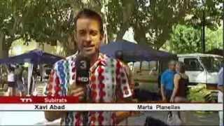 preview picture of video 'TV3 - Telenotícies 18-8-13: Activitats del Mercat del Préssec d'Ordal'