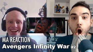 """Notre réaction avec Sacha au second trailer de AVENGERS INFINITY WAR ! ▻ Abonne toi à """"La Chaîne du Geek"""" : http://bit.ly/29XPyqp ▻ Vous souhaitez sponsoriser une vidéo ? C'est ici..."""