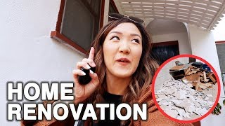 Home Renovation Has Started! | WahlieTV EP522